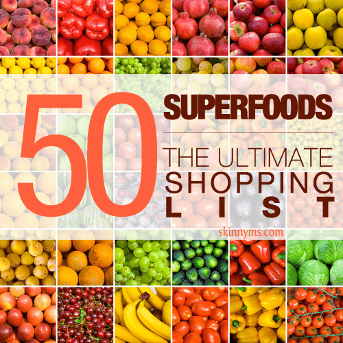Here are 50 incredibly healthy foods. Most of them are surprisingly delicious.