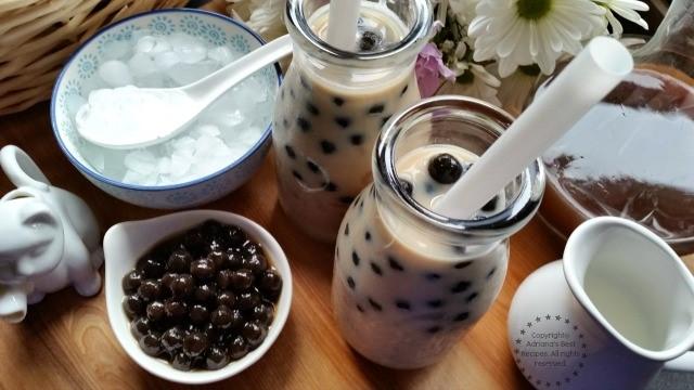 How to make milk tea pearls