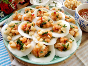 Savory Steamed Rice Cakes (Banh Beo)