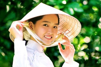 Vietnamese conical hat - Non la traditional village