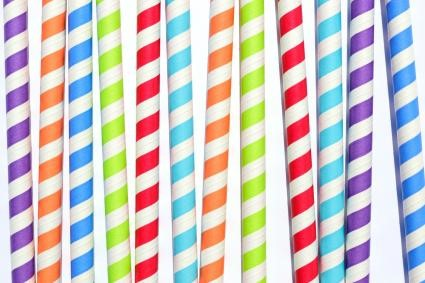 Biodegradable drinking straws paper straw