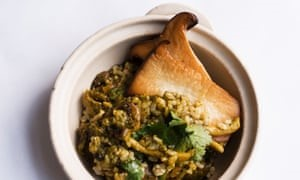 Fried nice spiced mushroom rice SAFIMEX