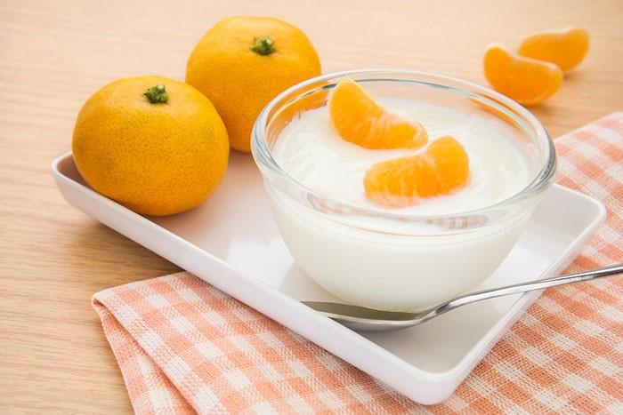 Orange Peels Yogurt SAFIMEX