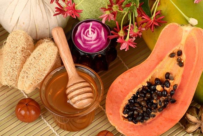 Papaya Honey Mask SAFIMEC