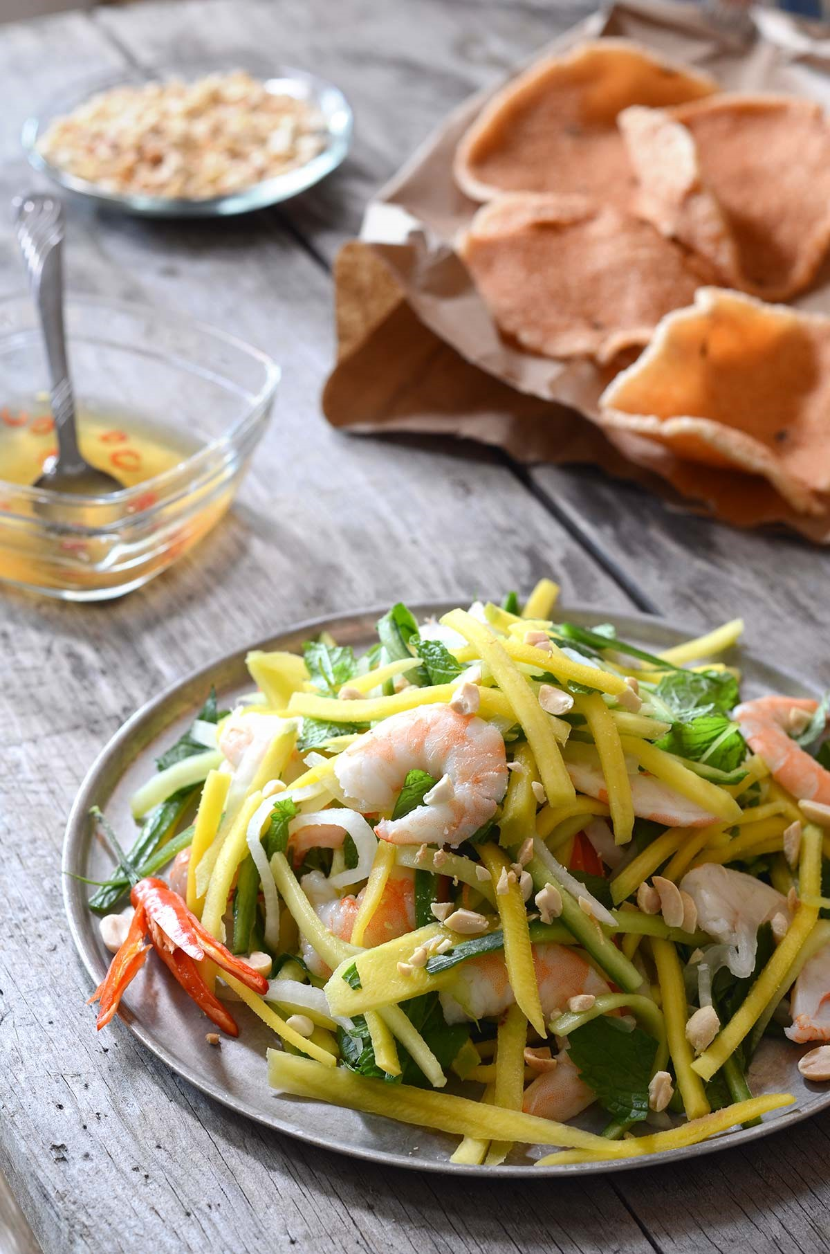 Vietnamese Green Mango Salad with Shrimp 03 SAFIMEX