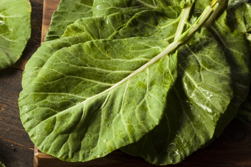 11 Healthiest Leafy Greens You Should Be Eating collard greens vegetables