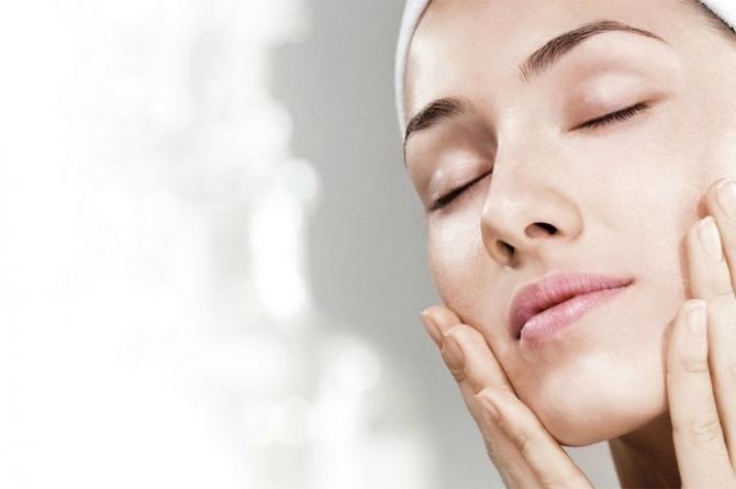 Rice powder beauty skin care spa