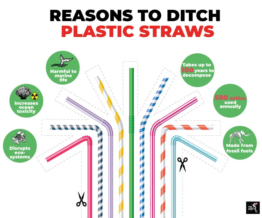 Vietnam's wild grass straws Plastic straw