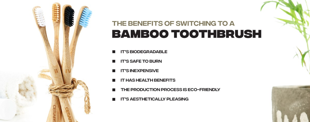 Benefits of switching to a bamboo toothbrush
