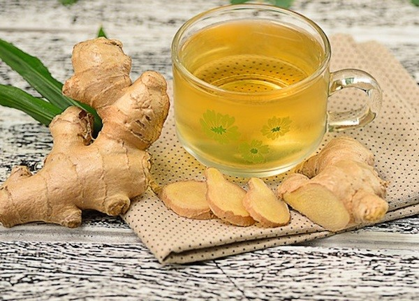 ginger detox water