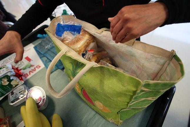 Use Reusable Plastic Bag ECO FRIENDLY SHOPPING