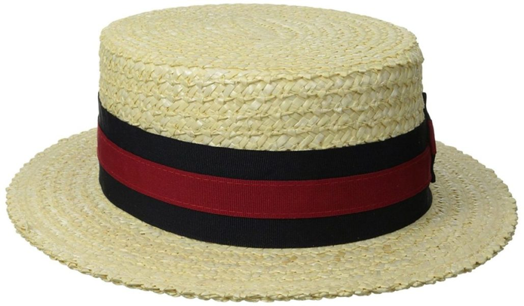 Boater hat straw hat SAFIMEX handicraft