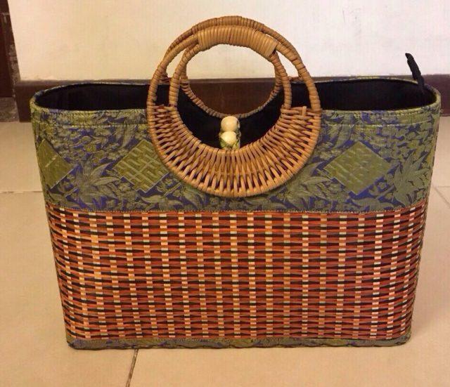 STRAW BAG handmade