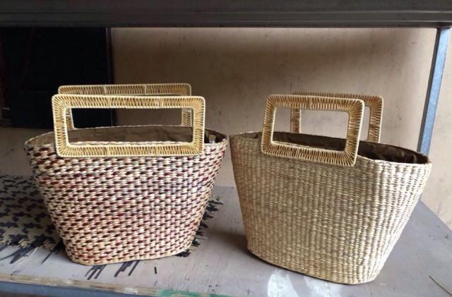 STRAW BAG handicraft safimex