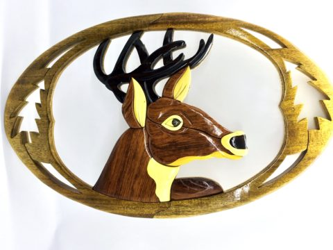 Wall Intarsia _ SAFIMEX _ handicraft
