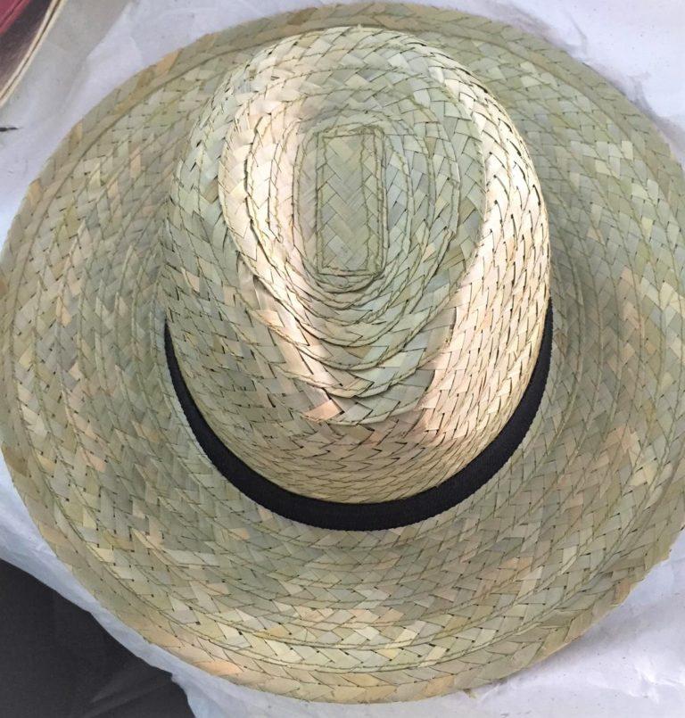 straw hat Cowboy hat safimex handmade