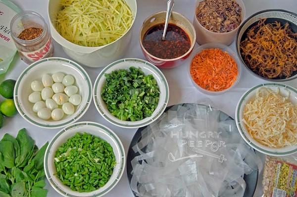 Rice Paper Salad Banh Trang Tron SAFIMEX