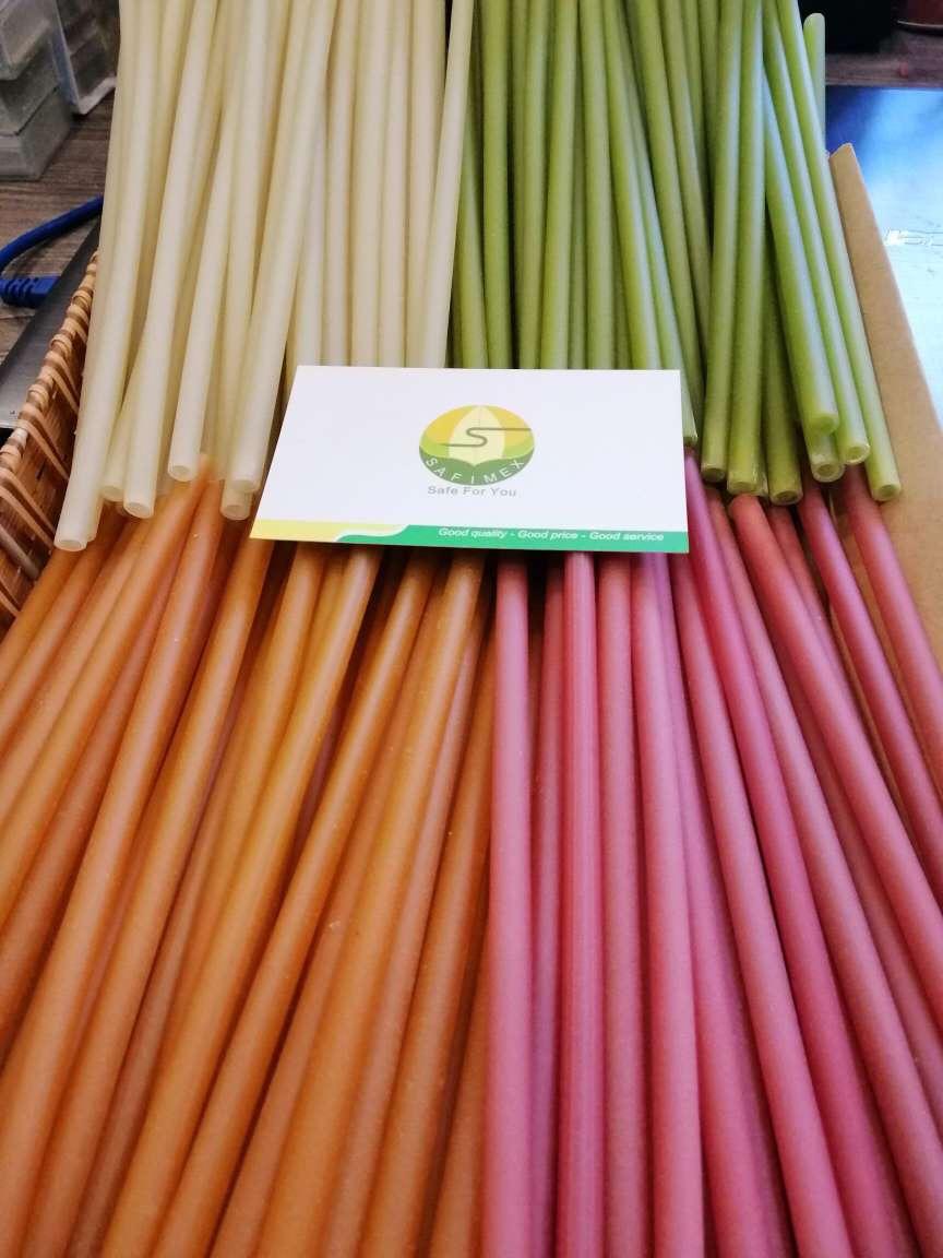 Rice flour Drinking Straws SAFIMEX VIETNAM