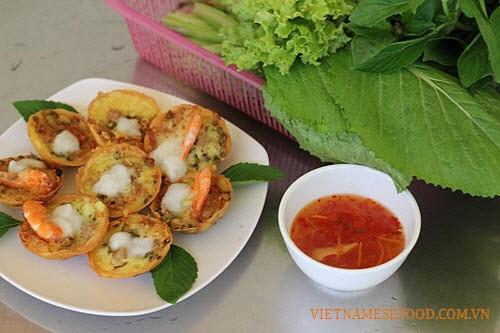 Vietnamese Mini Savory Pancakes Materials SAFIMEX