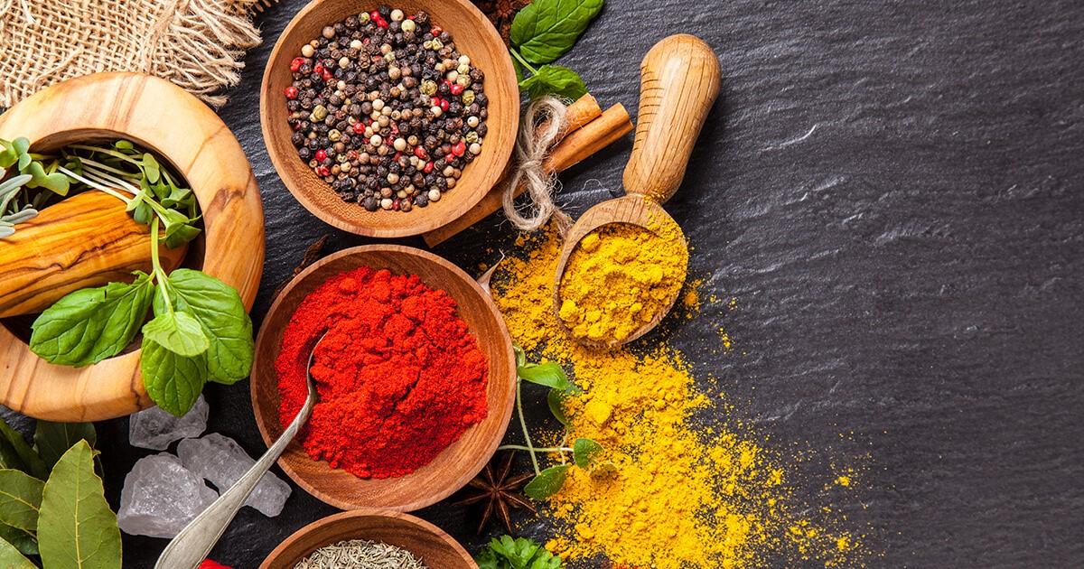 10 deliciosas hierbas y especias con poderosos beneficios para la salud - SAFIMEX