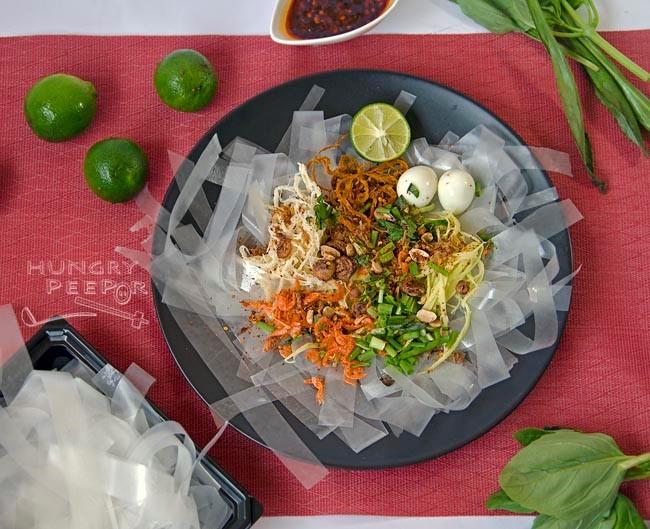 Vietnamese Rice Paper Salad cuisine