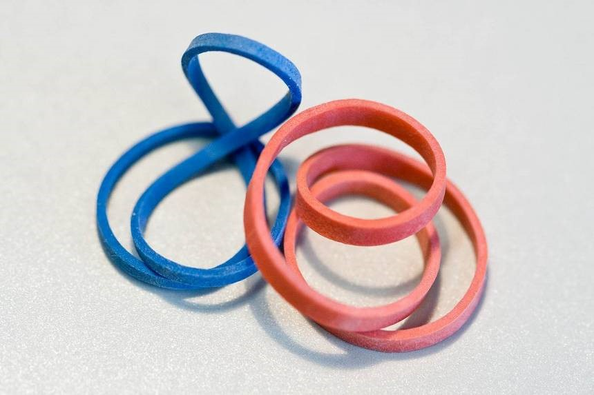 rubber bands raw materials