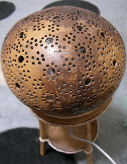 coconut shell Lampshade
