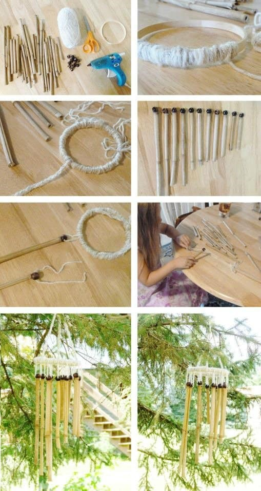 18. Choose a more mellow approach to a wind chime
