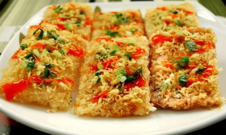 Chay Burned rice