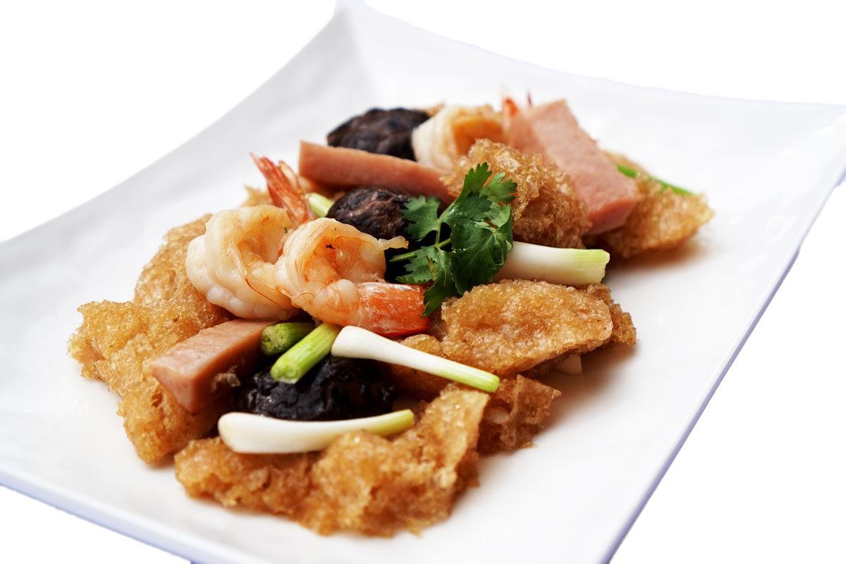 Fried Fish Maw