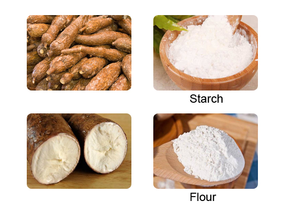 tapioca flour and starch
