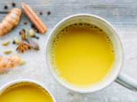 How to drink turmeric starch to be good for the body