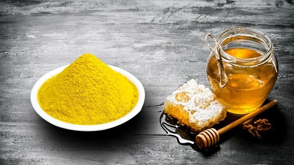turmeric starch with honey