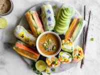 All about fresh spring rolls