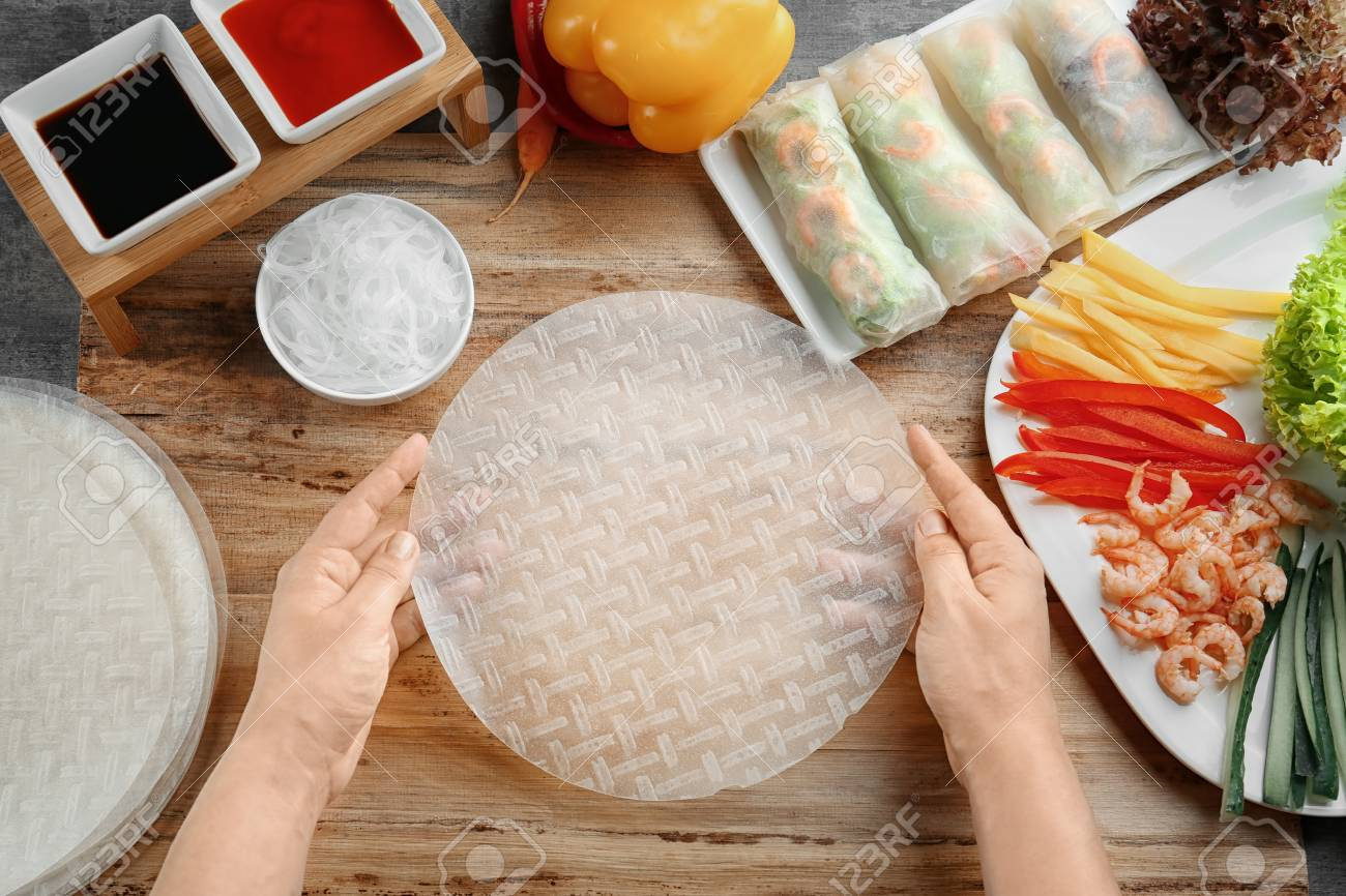 rice paper wrapper